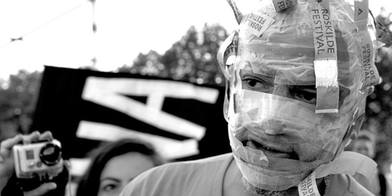 Kunstkrig på Roskilde-festivalen