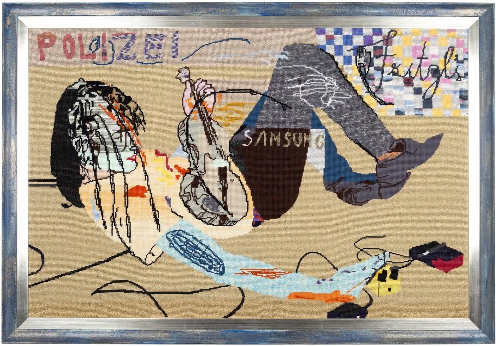 Verena Dengler, Sponsors, 2001–14. Courtesy the artist and Galerie Meyer Kainer, Vienna. Photo: Patrick Anthofer