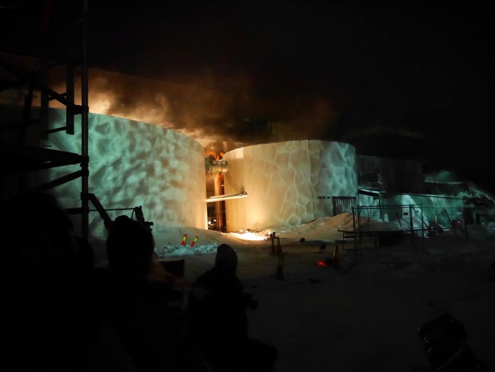 Lysshow åpning Barents Spektakel