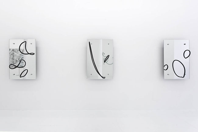 Evan Robarts, from left: Monday, Tuesday, Wednesday, 2015. Courtesy of The Hole