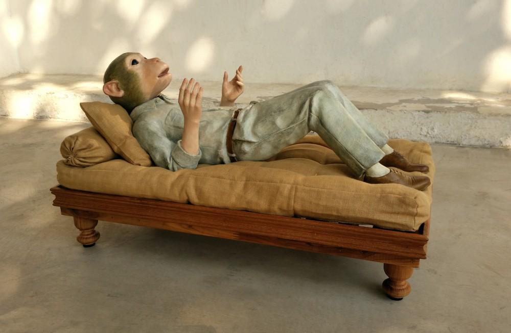 Lotta Hannertz, Monkey Mind. LArs Bohman Gallery, Market. Foto: Market