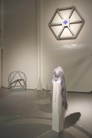 Josefine Lyche: Installasjonsbilde av Contact of Wheel of fortune, 2015. Foto: Gunhild Horgmo