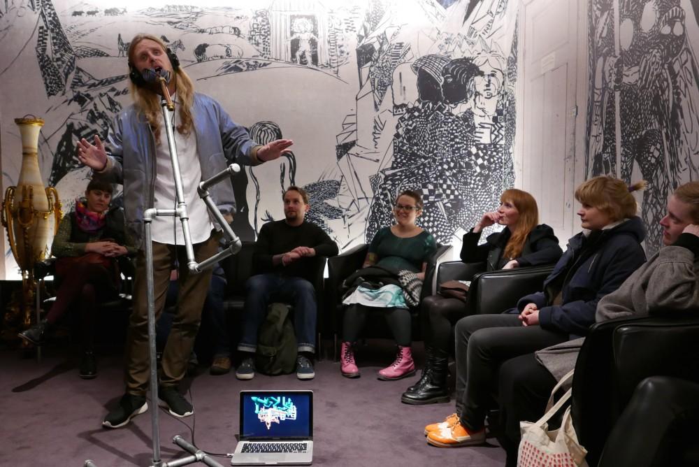 Styrmir Örn Gudmundsson, THE DEATH SHOW, 2015. Foto: Sequences