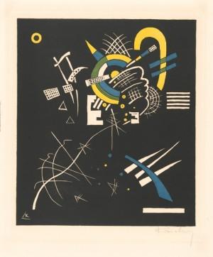"""Wassily Kandinsky (1866-1944), """"Kleine Welten – Blatt VII"""", 1922, tresnitt, 35,7 x 28,3 cm"""