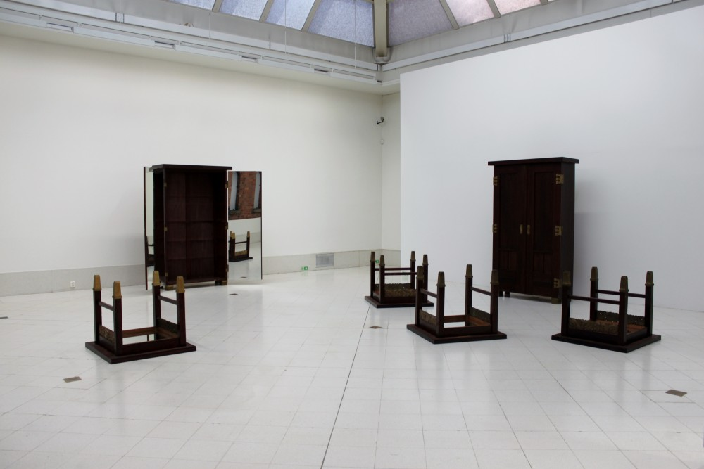 Michelangelo Pistoletto,  Image and body, 1989.