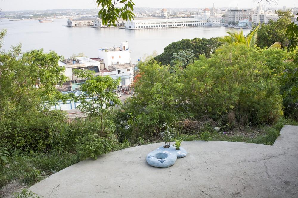 From the project A River in the Ocean, Marte Johnslien 2015. The 12th Havana Biennial, Casa Blanca, Cuba. Photo: Marte Johnslien