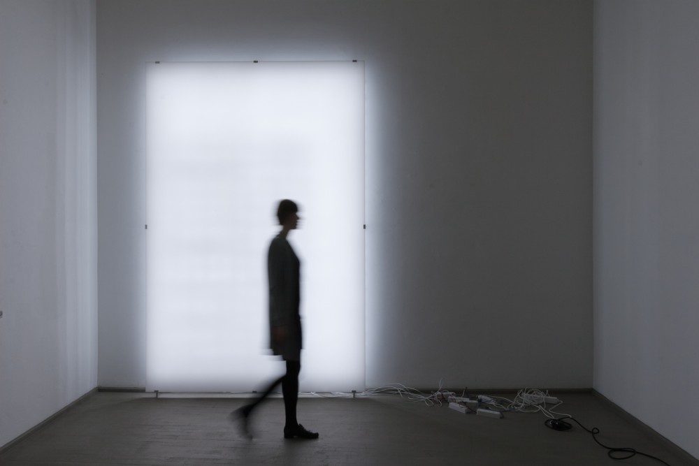 Ignas Krunglevičius, Transparent, 2015. Exhibition view at Galerija Vartai, Vilnius, Lithuania.