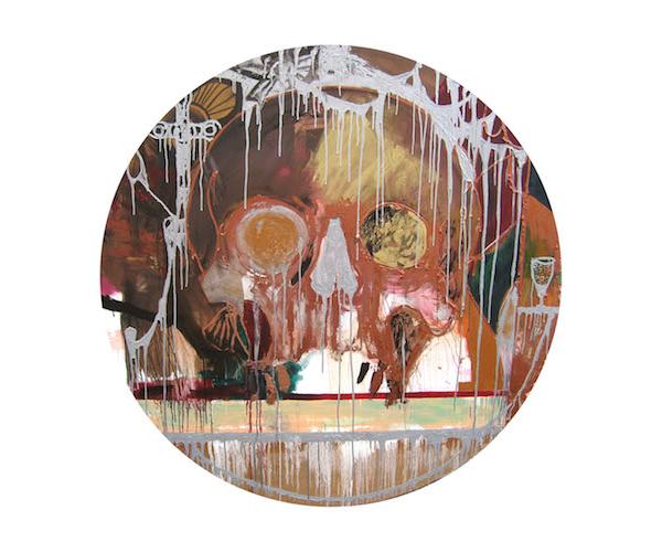 Raynald Driez: Memento mori, 2014, Oil on canvas,