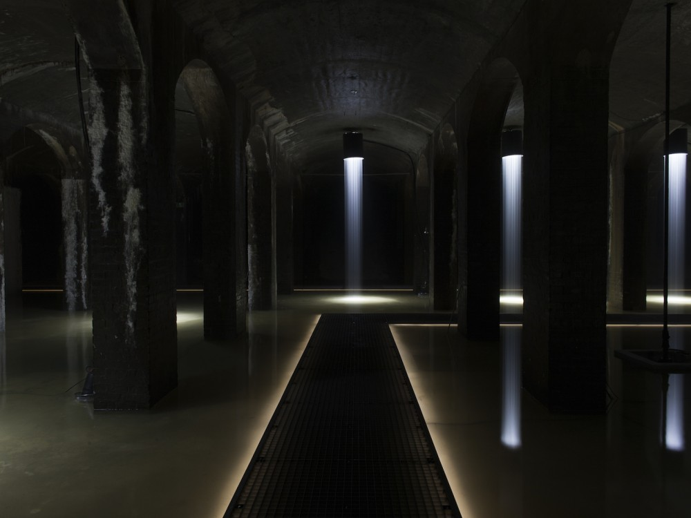 Ingvar Cronhammar, H, installasjonsfoto, Cisternerne. Foto: Christina Capetillo