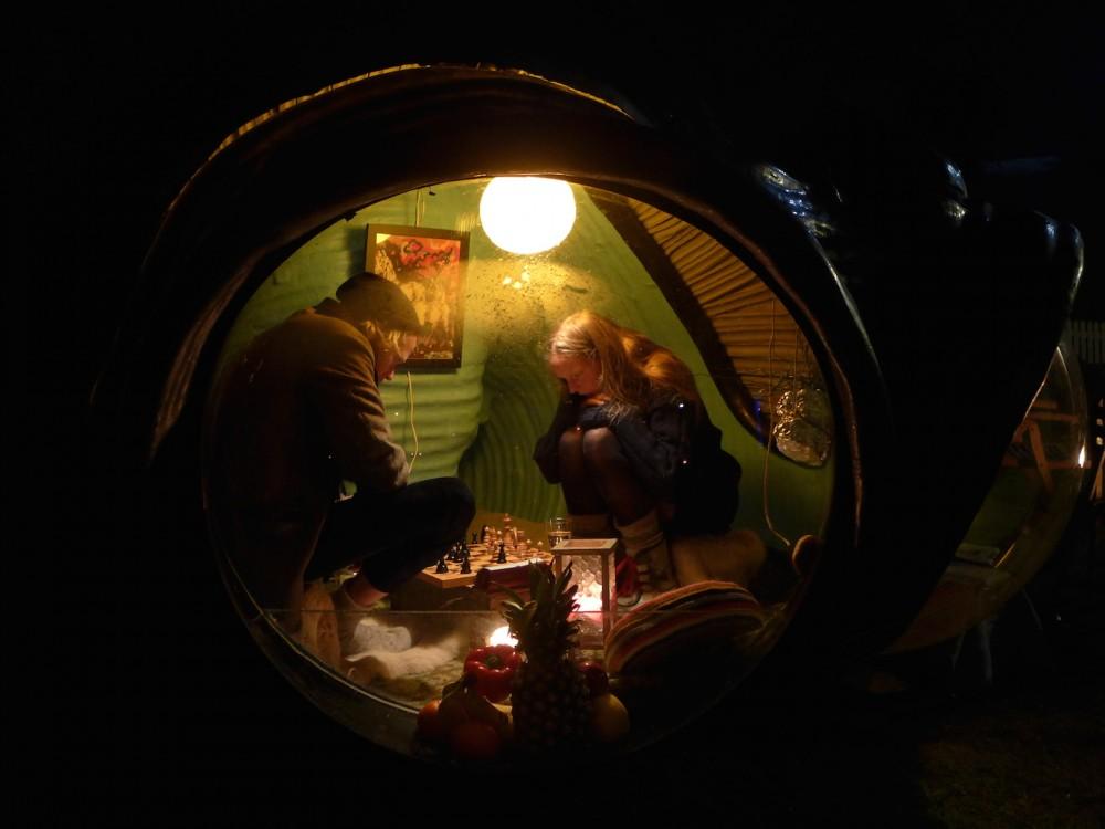 Sjakkturnering i Jegerlarven. Foto: Stein Grytting