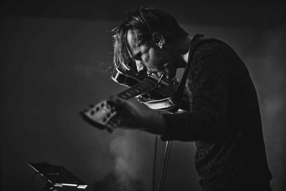Konsert, Stian Westerhus. Foto: Erik Berg Johansen