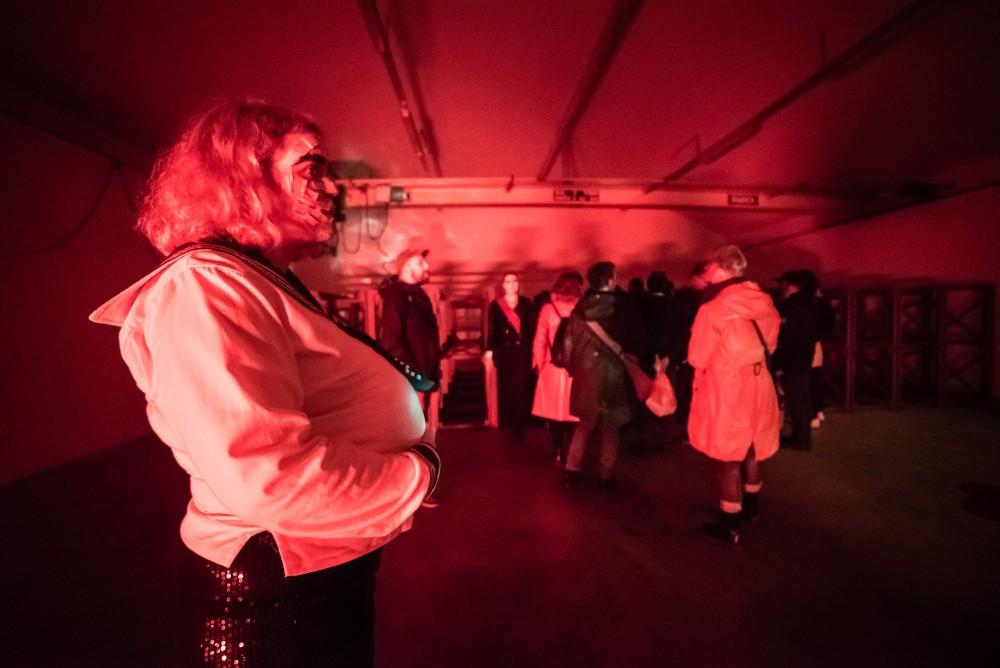 Kirsten Astrup, Night Club Torpedo, performance. Photo: David González