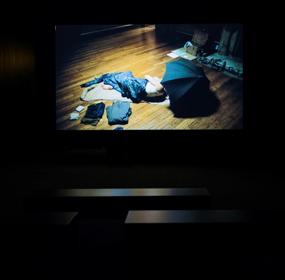 Fiona Tan, A Lapse of Memory. Installasjonsfoto. Foto: Nasjonalmuseet / Børre Høstland