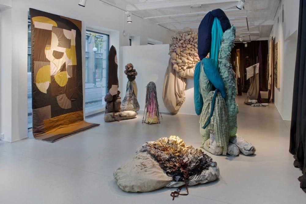 John K. Raustein, Lyden av utpust, Galleri Format, 2015. Installasjonsfoto.