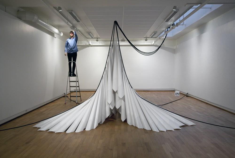 Marit Roland, Paper Drawings #15, Møre og Romsdal kunstsenter.