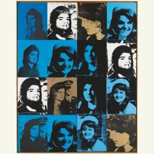 Andy Warhol, Jackie Kennedy.