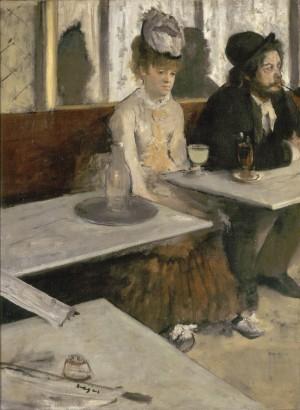 Edgar Degas, L'Absinthe, 1875-76. Paris, musée d'Orsay © Musée d'Orsay, Dist. RMN-Grand Palais / Patrice Schmidt
