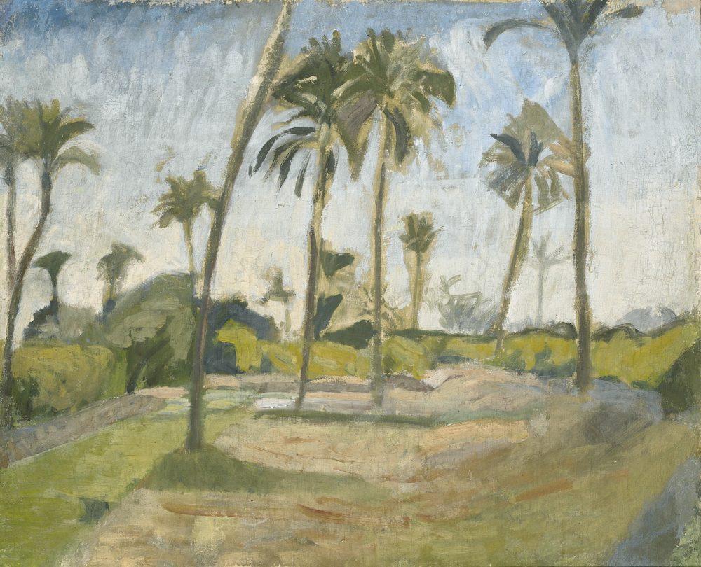 Ivan Aguéli, Afrikansk landskap, ca 1914. ©Ivan Aguéli. Foto: Moderna Museet