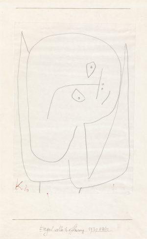 Paul Klee, Håpefull engel, 1939. ©Zentrum Paul Klee, Bern