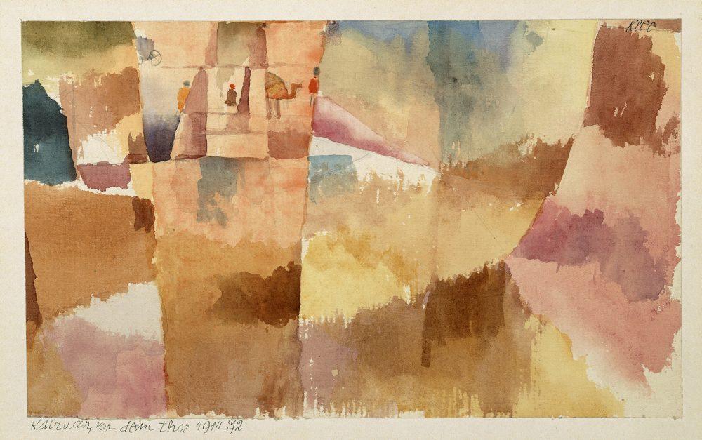 Paul Klee, Kairuan von dem Thor, 1914 ©Paul Klee